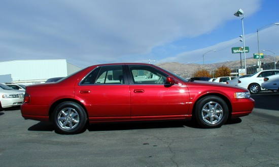 2000 cadillac seville sts crimson red. Cars Review. Best American Auto & Cars Review