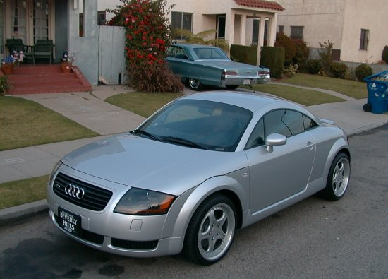 2001 audi tt 225 coupe quattro lake silver. Black Bedroom Furniture Sets. Home Design Ideas