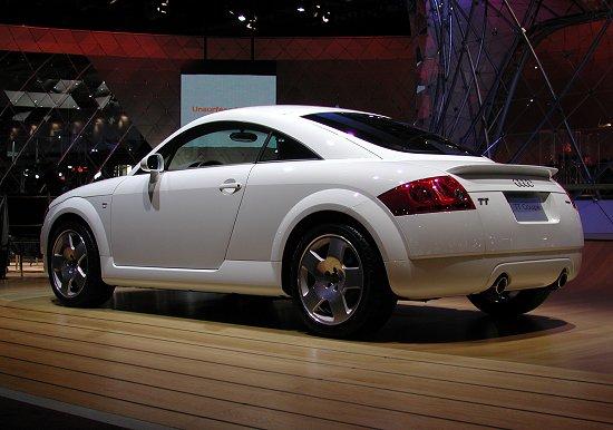 2001 Audi Tt Coupe Quattro White
